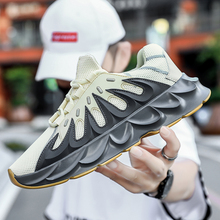 Popular 2019 Men Walking Jogging Sneakers Designer Mesh Sports Trainers For Mens Thick Soled Gym Shoes Man Athletic Running Shoe new arrival mens running shoes masculino esportivo sneakers shoe for men cheap sports athletic shoes hard court lightweight mesh