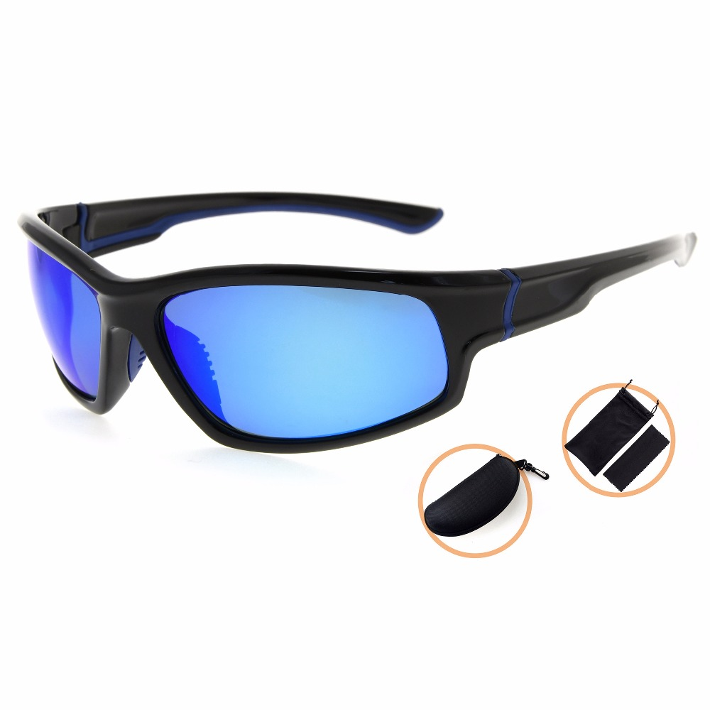 TH6199 Eyekepper Sports Polycarbonate Polarized Sunglasses TR90 Unbreakable Baseball Running Fishing Driving Golf Softball