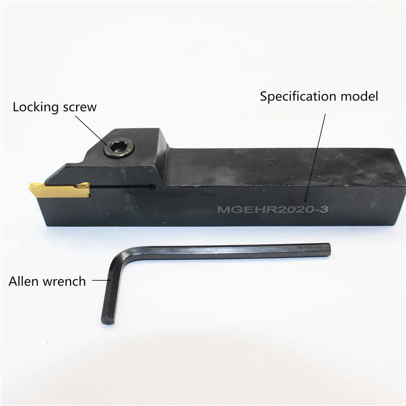 MGEHR2020-5 For MGMN500 Tool holder External Grooving Cut-Off Spring steel 1pcs