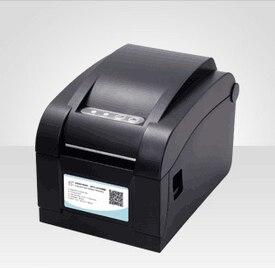 Порт Ethernet последовательный порт USB вместе pos принтер Новый высококачественный оригинальный Высокая Скорость Печати Штрих-Код Этикетки Стикер Принтера