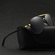 Luxury Hot Rays Aviator Polarized Sunglasses Men Brand Designer Retro Classic Male Sun Glasses Driving UV400 Oculos De Sol