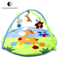 2015 New Baby Toy Baby Play Mat Tapete Infantil Cotton Crawling Mat Educational Game Play Gym Blanket Toys Carpet 0-1 Year HK876