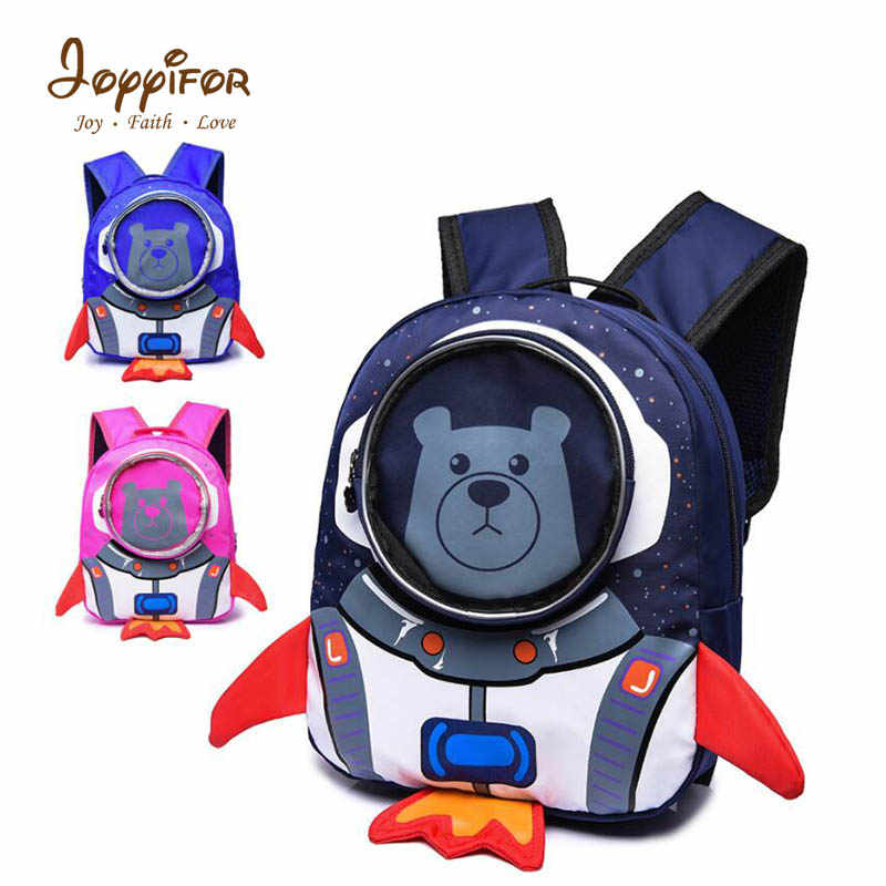 Joyyifor Universe Space baby Bear 3D Plush Toys Kids Girls Boys Animal Kindergarten Bag Backpack Wallet Money School Bag