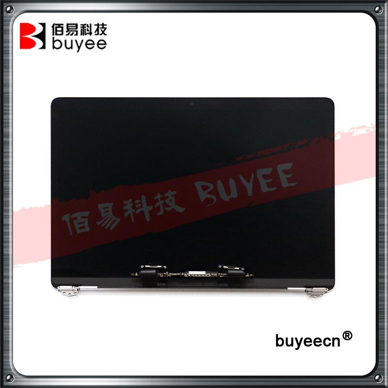 Original Grey Silver Laptop A1706 LCD Assembly 2016 Year For Macbook PRO Retina 13 Inch A1706 LCD Screen Assembly Replacement new original laptop a1706 us keyboards for macbook pro retina 13 inch a1706 keyboard 2016 year replacement