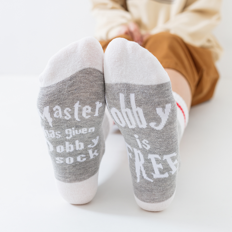 Women Wine   Socks   Print Letter Cute Autumn Spring Meia Funny   Socks   2019 Amozae New Arrival Chaussette Femme Winter Warmly Meias