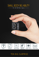 Wifi IP Mini Camera Wireless HD 720P Infrared Micro Camcorders IR Night Vision CAM Portable Recorder