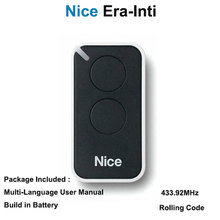 Nice Era inti replacement garage door remote transmitter Nice inti 2 handsender free shipping