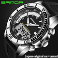 SANDA Fashion Men Sports Watches Brand Quartz Military Waterproof digital watch Men's Wristwatches Montre Femme 2017
