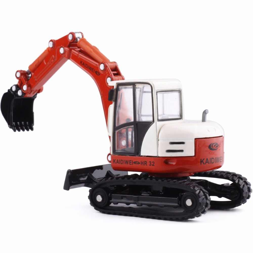 KAIDIWEI 1:50 Paduan rekayasa kendaraan model multifungsi dua arah truk teknik pertambangan mesin buldoser