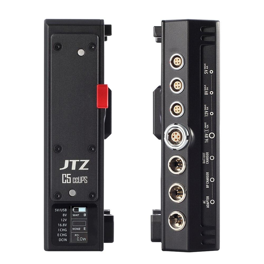JTZ DP30 C5 CCUPS V-Montage Alimentation Sans Interruption BP Batterie Plaque DSLR Rig