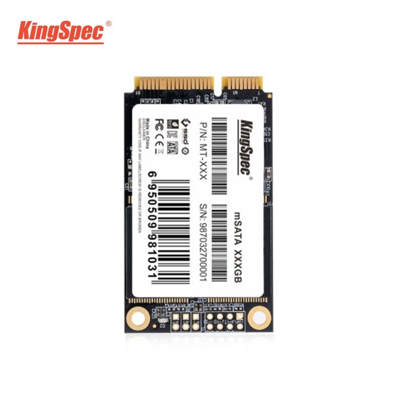 MT-256 KingSpec 256 GB SSD mSATA Sólido Disco Rígido de Estado Interno 6Gbs para Desktop Laptop MSATA 3.0