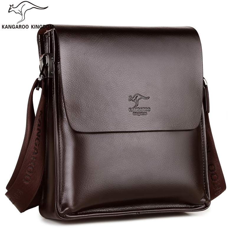 bolsa de couro homens sacolas Marca : Kangaroo Kingdom
