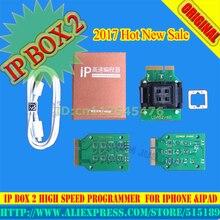 CAJA2 ipbox 2 IP ip programador de alta velocidad para el teléfono del cojín duro disco programmers4s 5 5c 5S 6 6 más herramientas de actualización de memoria 16g to128gb