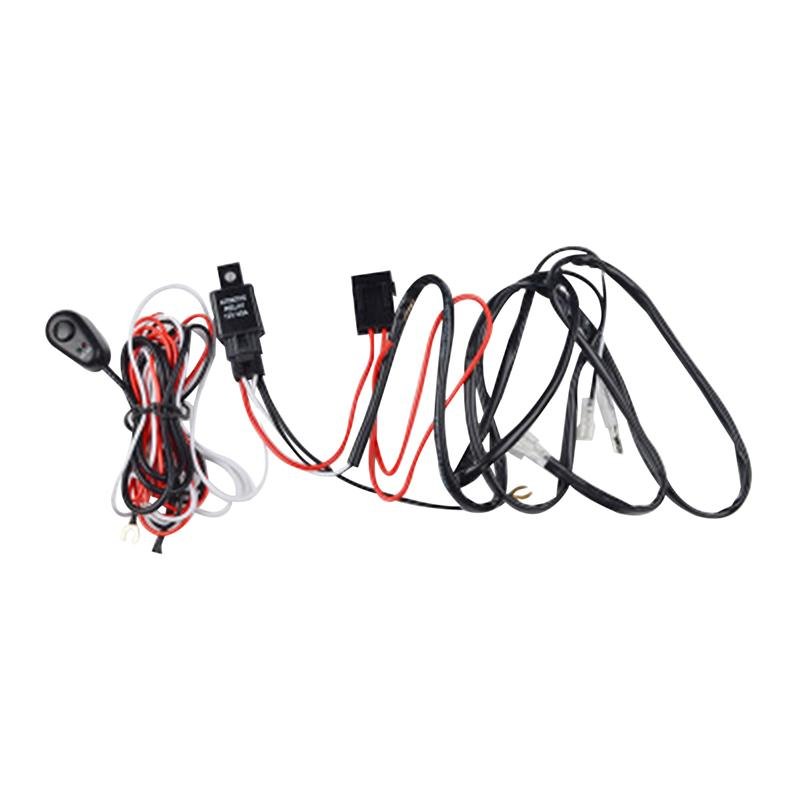 LED Light Bar Wiring Harness Relay ON/OFF Switch Harness