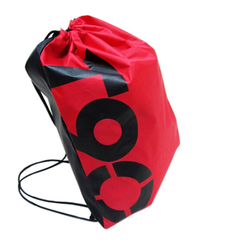 1PCS 4 Colors Multi Function Women Girls Drawstring Bag Soft Waterproof Nylon Beach Bag Backpack