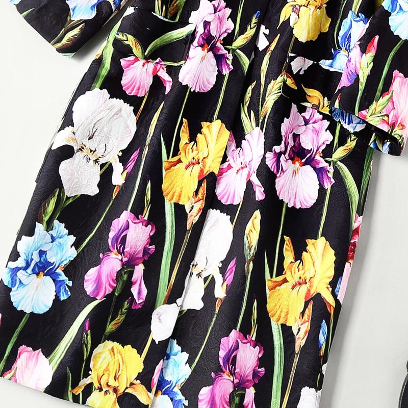 Gamme De Sur Européen Américain Style Long Vêtements Mesure Pardessus Manteau Imprimer Femmes Et Fleur Haut Nouveau Rq8wHx