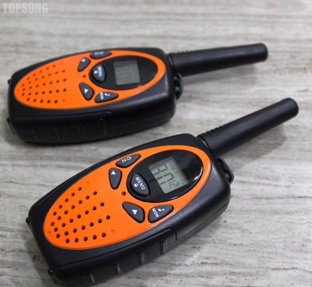 Long Range Radio UHF Cb 1 Watt  Walkie Talkie Radio T-628 Amateur Transceiver PMR446 FRS Interphone Woki Toki Balck/orange
