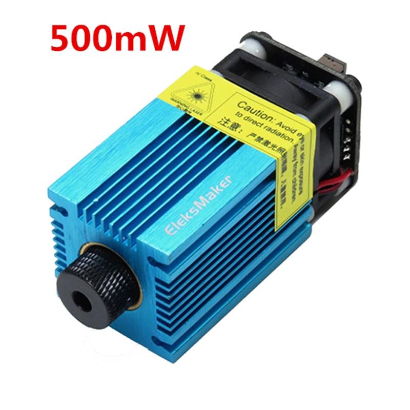 EleksMaker EL01 500 405nm 500mW Blue Violet Laser Module PWM Modulation 2.54-3P DIY Engraver