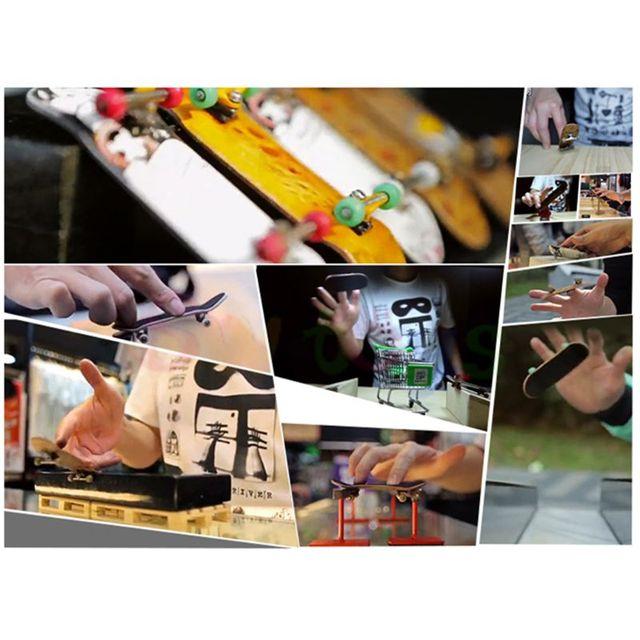 2PCS Finger Board Tech Truck Mini Skateboards Alloy Stent Party Favors Gift