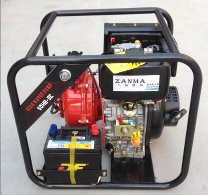 50HB-2DE Agricultural Irrigation Diesel Water Pump Diesel Engine 2INCH
