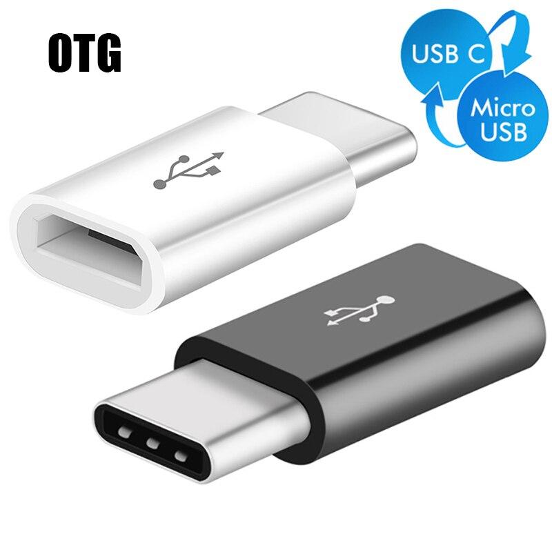 USB Adapter USB C To Micro USB OTG Type C Converter For Samsung Galaxy S8 S9 Huawei P20 Pro P10 Xiaomi Mi 8 Hub OTG Cord Adapter