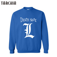 TARCHIA DEATH NOTE Printed Skateboard Sweatshirt Men Hoodies Fashion Mens Clothes Hip Hop Suit Pullover Tracksuits
