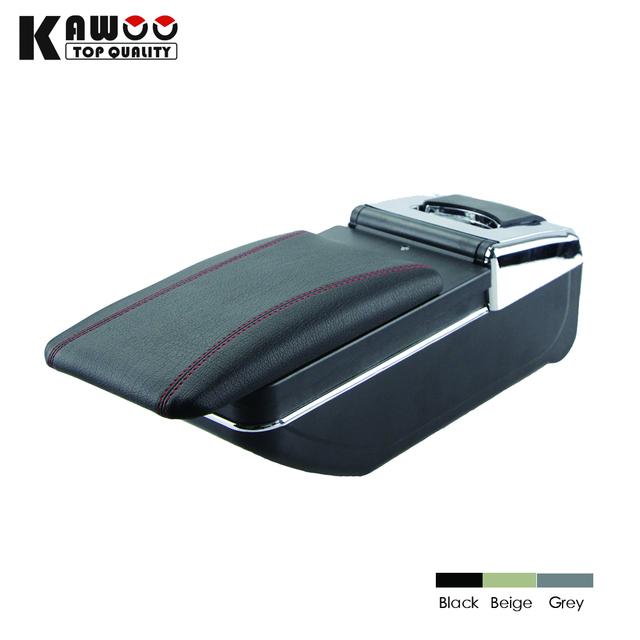 Três cor Armazenar conteúdo caixa apoio de braço central caixa De Armazenamento com suporte de copo cinzeiro produtos acessórios Para Chevrolet Cruze