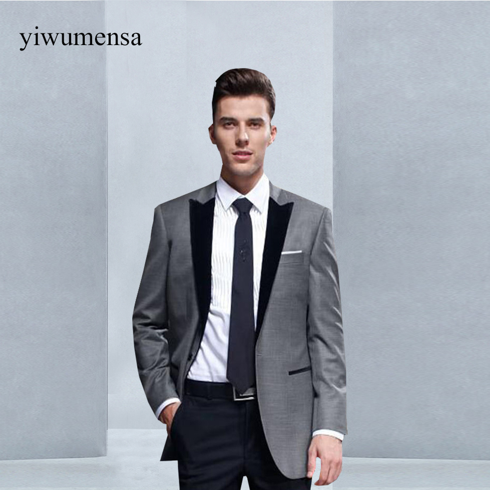 Online Shop Y233 wedding suits for men Groomsmen Wedding Blazer men ...