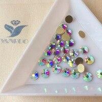 Free Shipping 4 6 4 8mm Crystal Rhinestones Nail Art SS20 AB