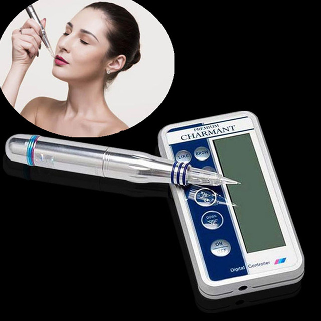 Charmant Permanent Makeup Machine Kit For Eyebrow Tattoo Lip eyeliner Microblading Pen Set dermografo Make up microblade machine 3