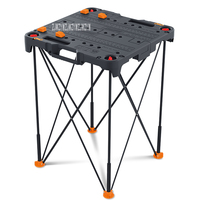 WX066 Portable Workbench Multifunctional Folding Woodworking Tool Table High quality Home Hardware Tools Work Table Hot Selling