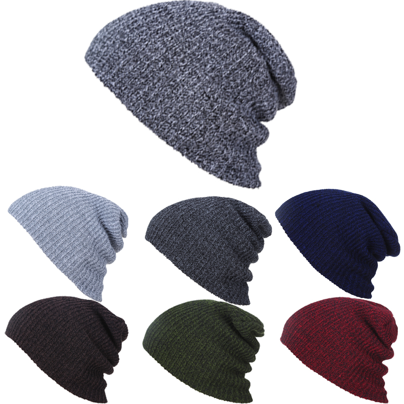 2016 Winter Beanies Solid Color Hat Unisex Plain Warm Beanie Skull Knit Cap Hats Knitted Touca Gorros Caps For Men Women LZ002 brand skullies winter hats for men bonnet beanies knitted winter hat caps beanie warm baggy cap gorros touca hat 2016 kc010