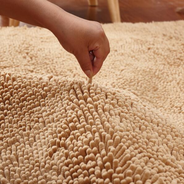 Personnalisable grande taille 60*160 cm/100*200 cm pas cher épaissir Chenille tapis de bain, tapis de salle de bain tapis pour salon tapis de sol