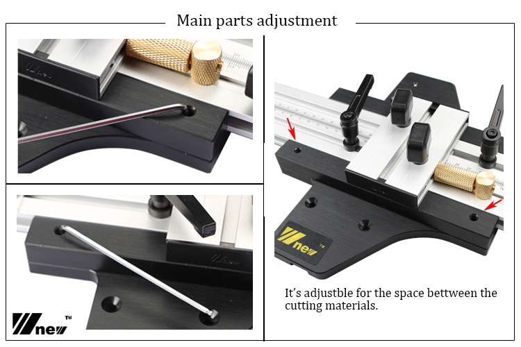 Tools : Guide Rail Linear Slide Orbit for Engraving Straight and Round