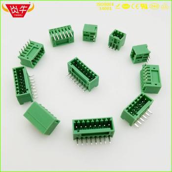 KF2EDGR 2 54 2P ~ 12P PCB PLUG-IN terminala bloki silnika 15EDGRC 2 54mm 2PIN ~ 12PIN MCV 0 5 2-G-2 54 phoenix contact firma DEGSON KEFA tanie i dobre opinie NoEnName_Null Rohs CN (pochodzenie) Wtyczka 1-10 KF2EDGR-2 54- 21 - 30 AWG CHINA BRASS TIN PLATING BRASS NICKEL PLATING
