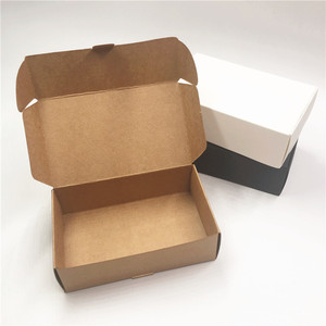 12pcs /lot Craft Kraft Paper Box Packaging Box Wedding Party Small Gift Candy Favor Package Boxes For Handmade Soap Storage(China)