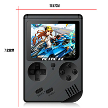 Retro-FC Mini Video Game Console Built In 168 Retro 8 Bit 3.0 Inch Games AV Out Portable Handheld Game Gift For Kids