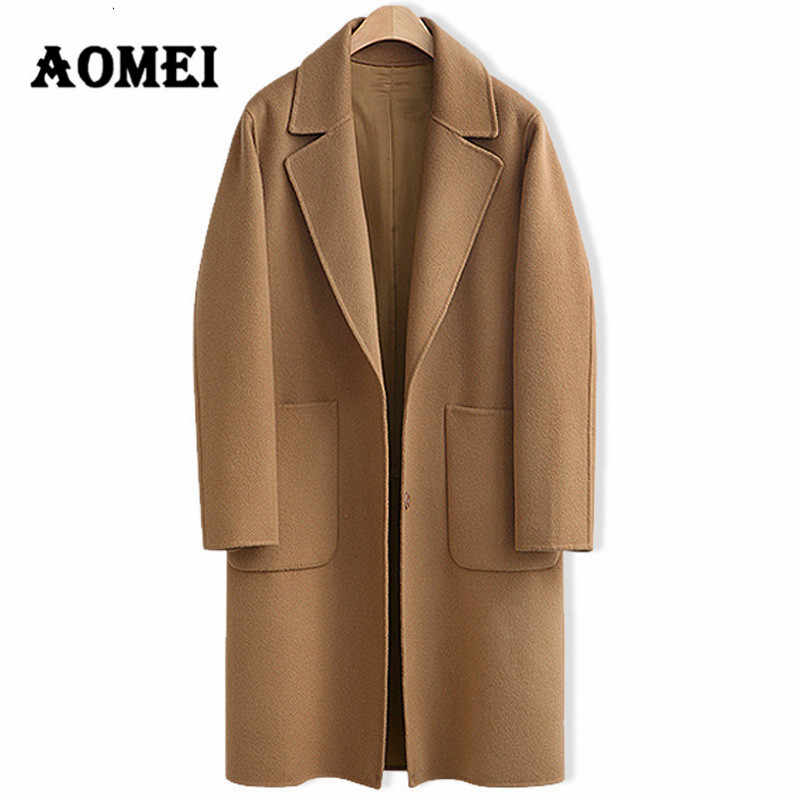 Women Casual Fashion Wool Coats Oversize Winter Fashion Wear to Work Office Lady Woolen Blend Outwear Clothing Overcoat Cape
