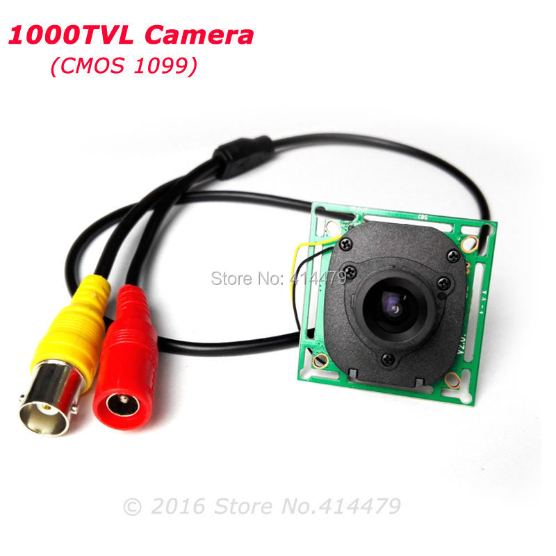 HD 1000TVL CMOS IR CUT Filter Security Camera Mini Board Module with 3.6MM Lens For Home Video Surveillance smar home security 1000tvl surveillance camera 36 ir infrared leds with 3 6mm wide lens built in ir cut filter