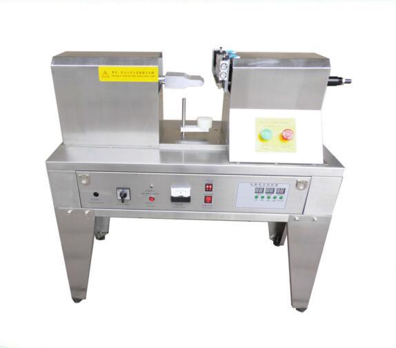 CapsulCN,Ultrasonic Plastic Tube Sealer,Sealing Machine with Cutting Printing (220V/50HZ)