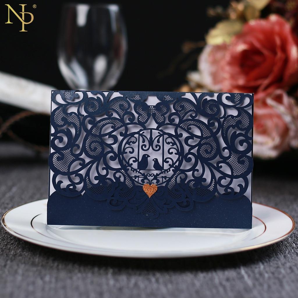 Wedding Invitations High End: Nicro Hollowed Out Innovative Wedding Invitation Card High