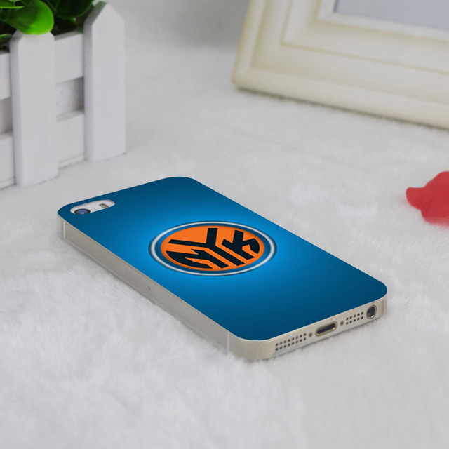 A1451 New York Knicks Transparent Hard Thin Case Cover For Apple iPhone 4 4S 5 5S SE 5C 6 6S 6Plus 6s Plus