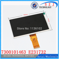 Original 7 Inch 163 97mm 7300101463 E231732 HD 1024 600 LCD Display Screen For Cube U25GT