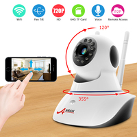 Pan Tilt Wireless IP Camera Wifi 720P HD CCTV For Home P2P Security Surveillance Two Way