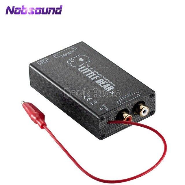 Little Bear T9 Mini Phono MM RIAA Turntable Preamp Pre Amplifier Ver2.5 Inspired By DENON AVR 2310CI Amp
