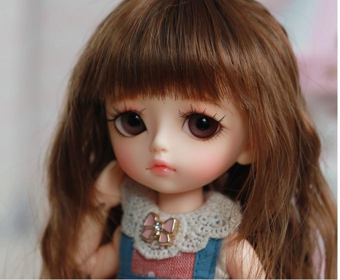 Free shipping Free shipping 1 8 bjd doll yellow Noa