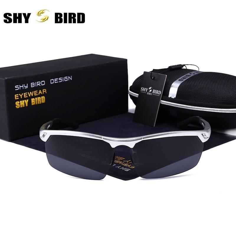 Guter Deal Halbrand polarisierte sonnenbrille für männer Luxury ...