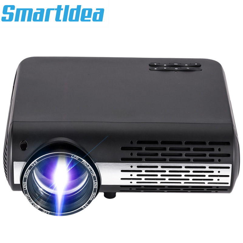 2019 Smartldea M2 Android Wifi Projector LED Home Theater Proyector digital Video Game Beamer Full HD