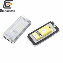 Eonstime 2pcs 6500K 18 LED SMD License Plate Lights Lamps Bulbs for BMW E46 4D (98-05) 323i 325i 328i 99-03 330xi 330i 325xi