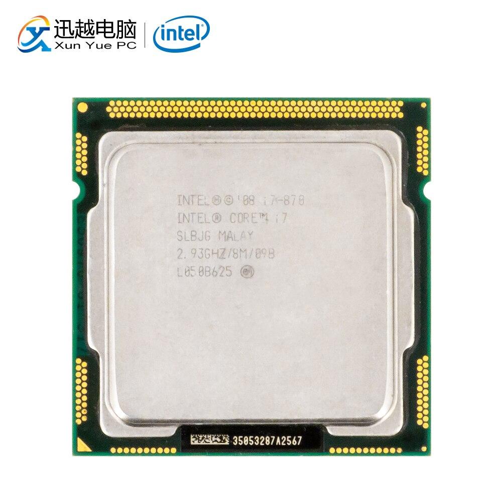 Intel Core i7 870 настольный процессор i7-870 четырехъядерный процессор 2,93 ГГц 8 МБ кэш L3 LGA 1156 б/у